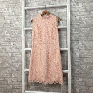 Ted Baker Latoya Lace Dress Pink Size 3